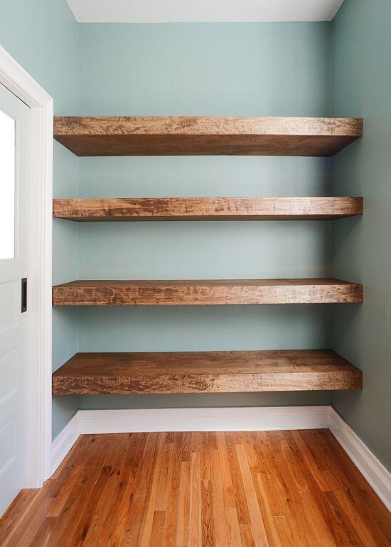 Unique design options for diy floating shelves top cool diy for Cool floating shelves