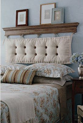 make your own headboard diy headboard ideas top cool diy. Black Bedroom Furniture Sets. Home Design Ideas
