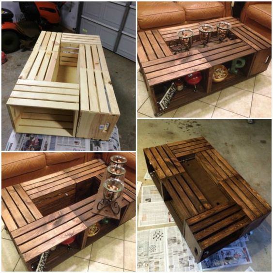Ideas How To Make A Coffee Table Using DIY Coffee Table Plans