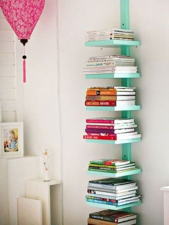 Unique DIY Bookshelf Ideas For Book Lovers