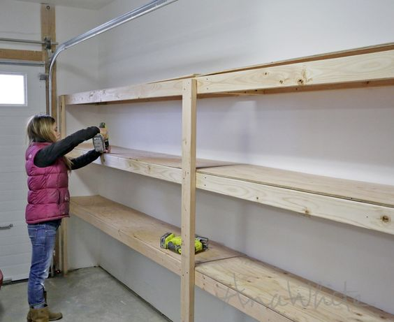 garage floor ideas diy - Save Thousands Building DIY Garage Storage TOP Cool DIY